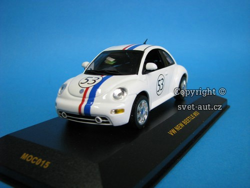 Volkswagen New Beetle No.53 1:43 Ixo