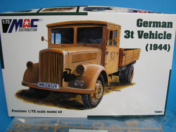 German 3T Vehicle 1:72 MAC