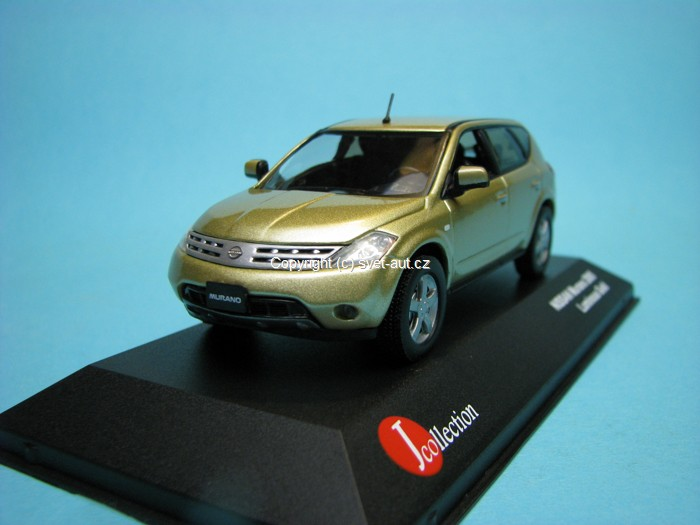 Nissan Murano Luminous Gold 1:43 J-colection