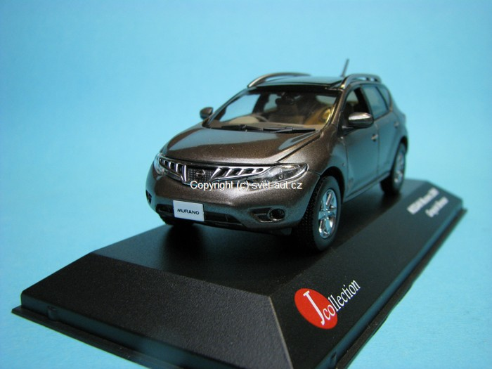 Nissan Murano 2009 Graish Bronze 1:43 J-collection