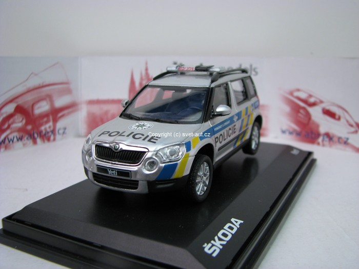 Škoda Yeti Policie ČR 1:43 Abrex