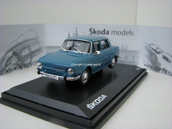 Škoda 110L Medium Blue 1:43 Abrex