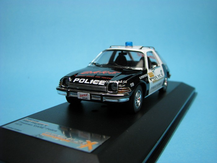 AMC Pacer X Freetown Dare Police 1:43 Premium X