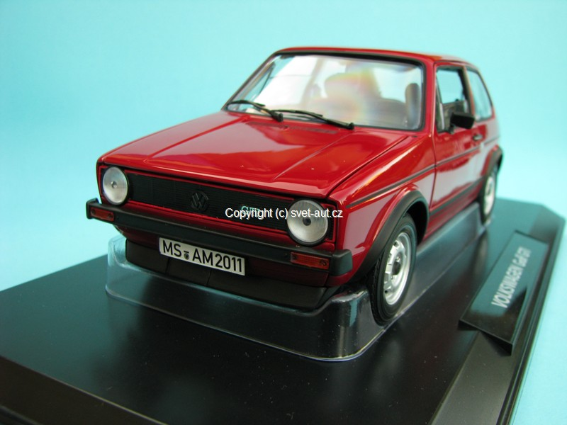 Volkswagen Golf GTI 1977 red 1:18 Norev