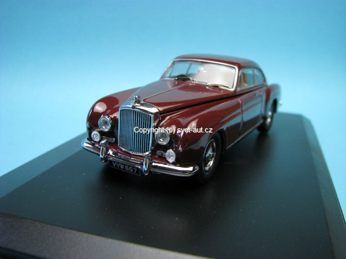 Bentley Continental S1 Fastback Maroon 1:43 Oxford