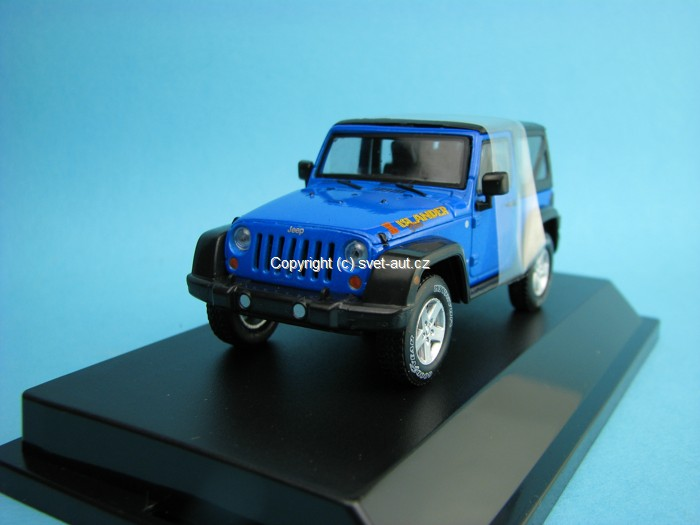 Jeep Wrangler Rubicon 2012 Islander 1:43 Greenlight