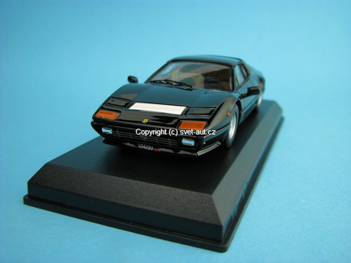 Ferrari 512 BB black 1976 1:43 Best