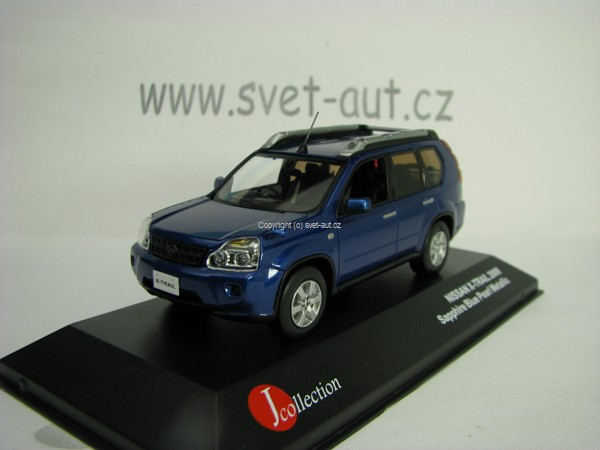 Nissan X-Trail 2008 Saphire blue 1:43 J-collection