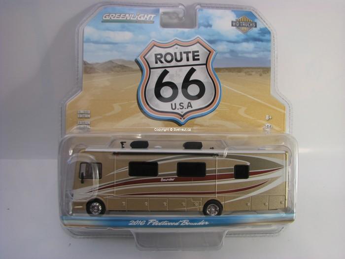 Fleetwood Bounder 2016 autocaravan Autumn Breeze 1:64 Greenlight