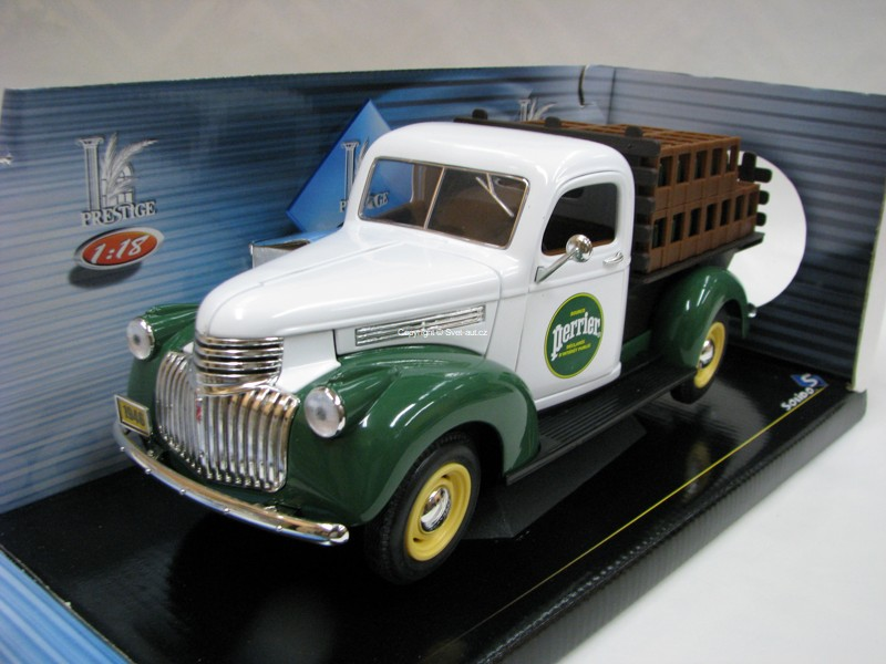Chevrolet Brasseur Perrier Pick Up 1:18 Solido