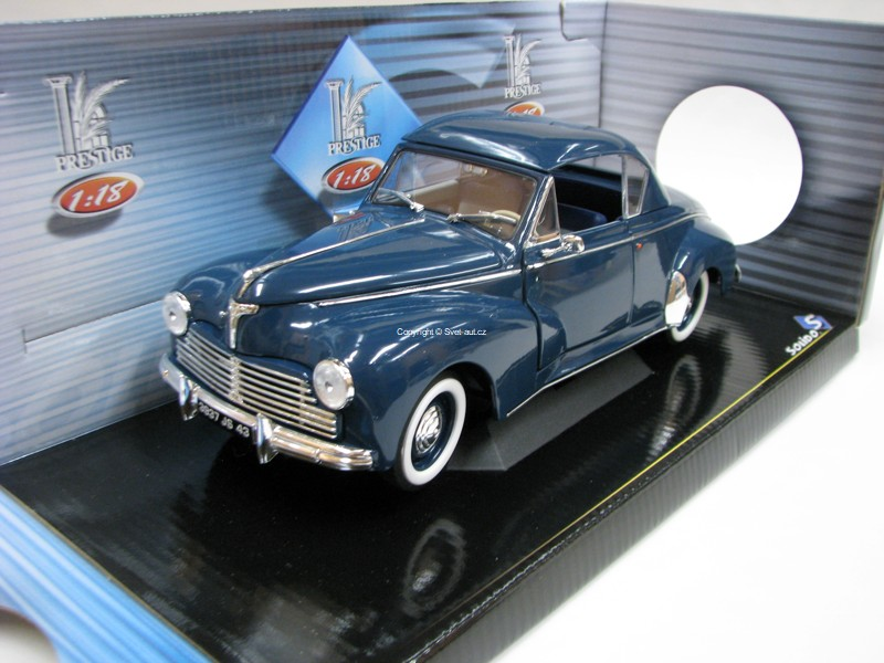 Peugeot 203 Coupé 1954 Blue 1:18 Solido