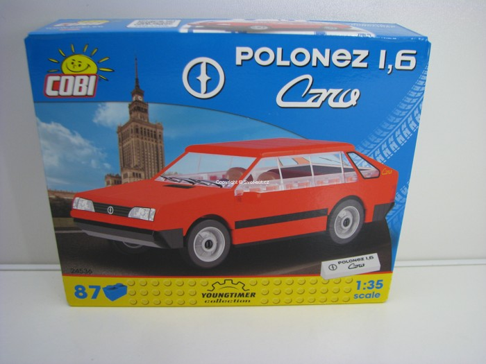 Cobi 24536 FSO Polonez 1,6 Caro stavebnice 1:35 Youngtimer collection