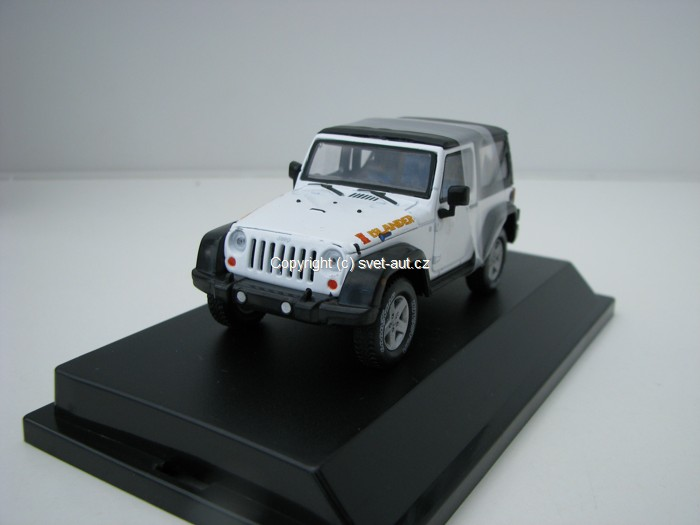 Jeep Wrangler Rubicon Islander 1:43 Greenlight