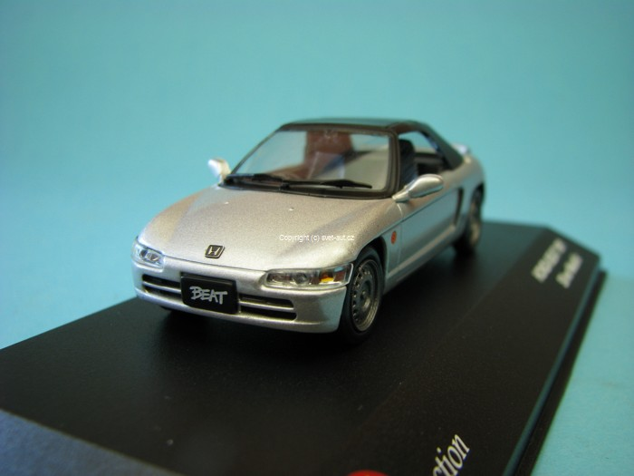 Honda Beat 1991 Silver metallic 1:43 J-collection