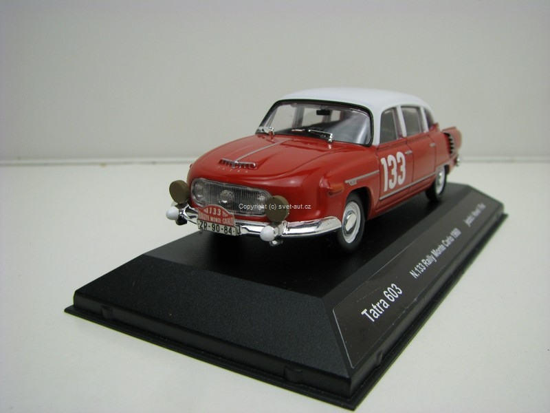 Tatra 603 No.133 Rally MC 1960 Havel/Fac 1:43 Ixo Fox Toys