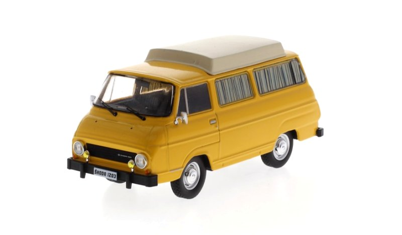 Škoda 1203 Camping Closed roof 1:43 Fox18