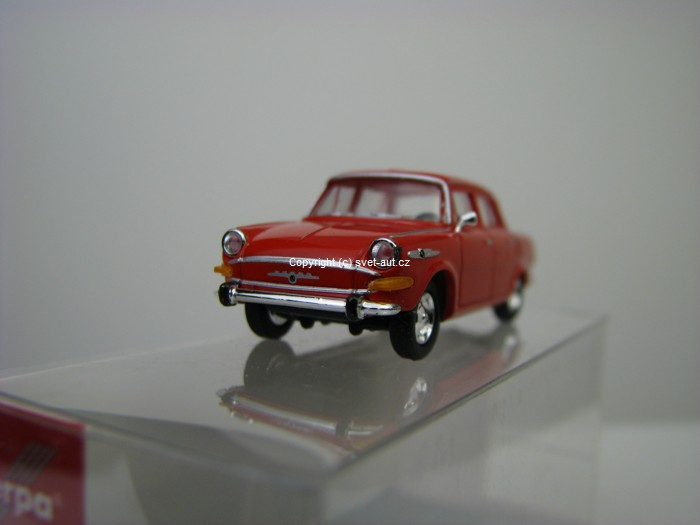 Škoda 1000MB Red 1:87 Herpa