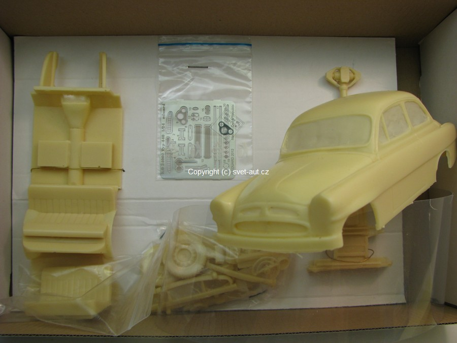 koda Spartak Typ 440 Resin Kit 1:24 SA