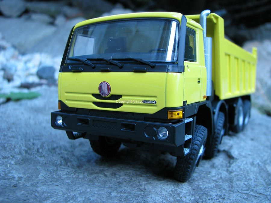 Tatra T815 S1 8x8 lut 1:43 Kaden