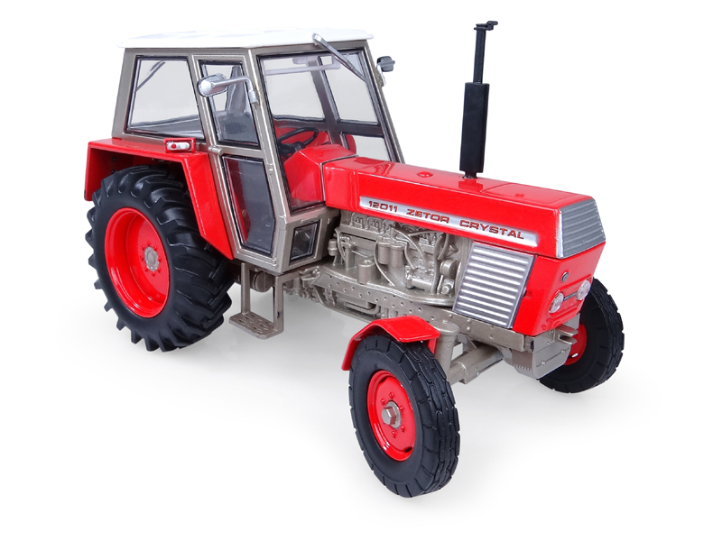 Zetor Crystal 12011 2WD Red 1:32 Universal Hobbies UH4984