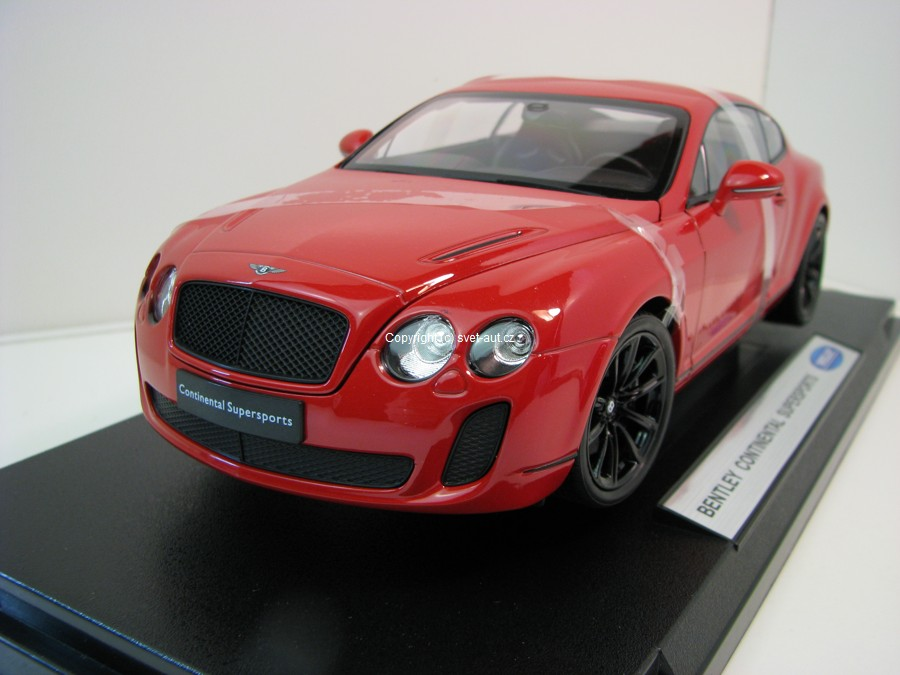 Bentley Continental Supersports red 1:18 Welly