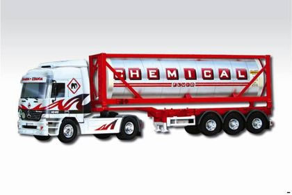 Mercedes Actros Chemical Fluid 1:48 Vista 0109-60