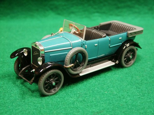 Škoda Laurin a Klement Combi Body Bluegreen 1:43 Abrex