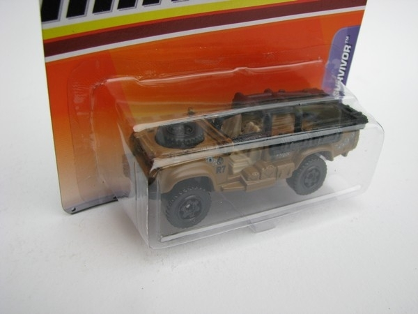 Sahara Survivor Matchbox