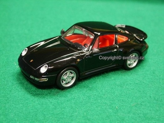 Porsche 911 Turbo Coupe black 1:43 DeAgostini