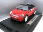 Mini Cooper NEW cabrio Red 1:24 Gartex Ltd