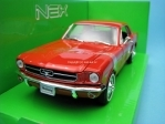 Ford 1964 - 1/2 Mustang Coupe red 1:24 Welly