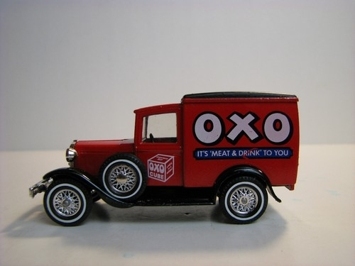 Ford A 1930 OXO Drink Matchbox Yesteryear