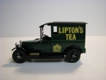 Talbot 1927 Liptons Tea Matchbox Yesteryear