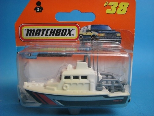 Sea Rescue Boat 1:100 Matchbox