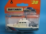 Sea Rescue Boat Beach Patrol 1:100 Matchbox