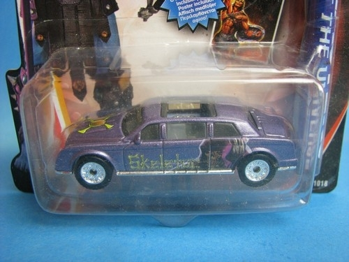 Limousine Skeletor Matchbox Collectibles
