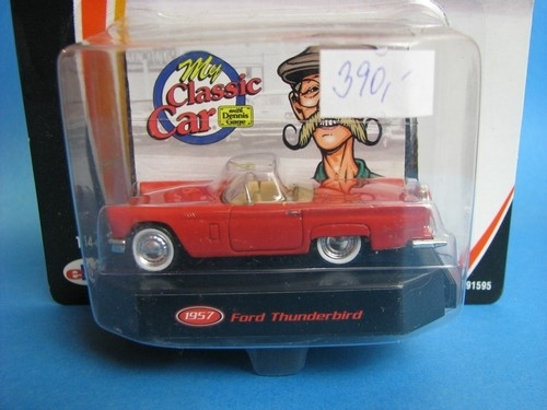 Ford Thunderbird 1957 Colection Dennis Gage Matchbox Colectibles