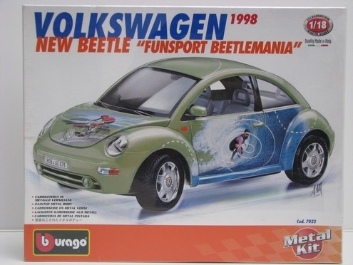 Volkswagen New Beetle Fun Sport 1:18 KIT Bburago Italy