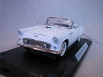 Ford Thunderbird Convertible 1956 White 1:18 Motor Max