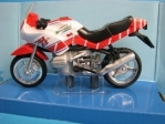 BMW R1100 RS white No.88 1:18 Cararama