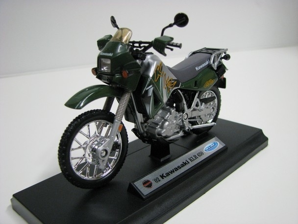 Kawasaki KLR 650 1:18 Welly