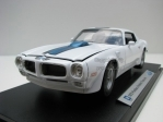 Pontiac Firebird Trans Am 1972 white 1:18 Welly