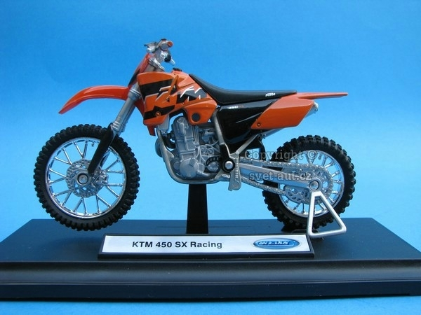 KTM 450 SX Racing 1:18 Welly
