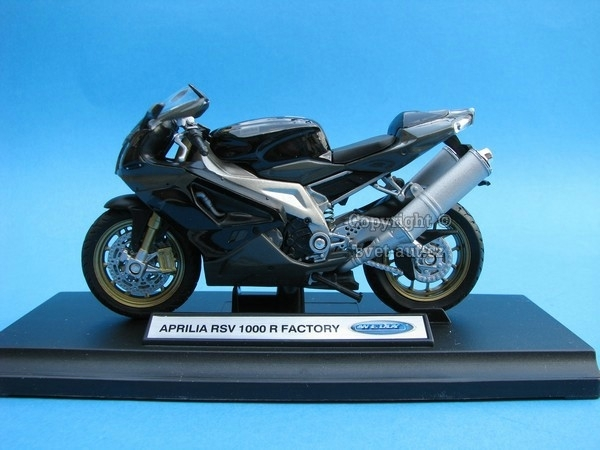 Aprilia RSV 1000R Factory 1:18 Welly