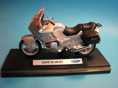 BMW R1100 RT Silver 1:18 Welly