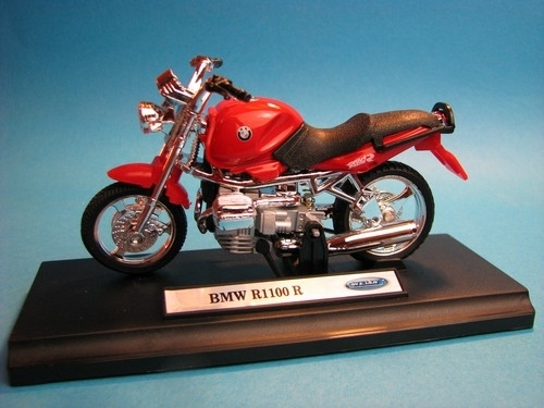 BMW R1100 R Red 1:18 Welly