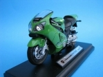 Kawasaki Ninja ZX-12R green 1:18 Welly