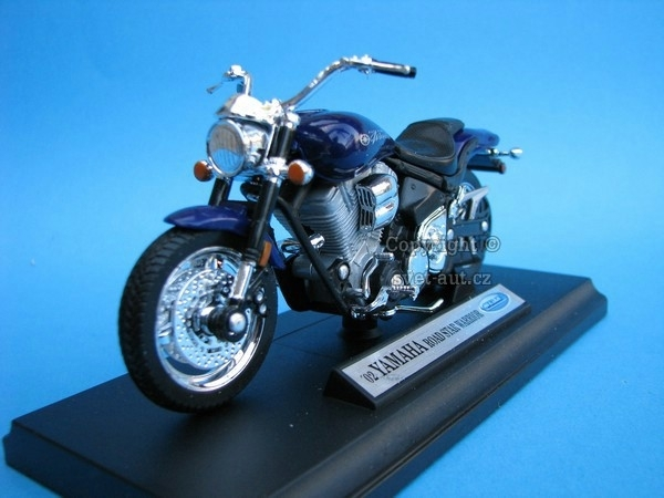 Yamaha Road Star Warrior blue 1:18 Welly