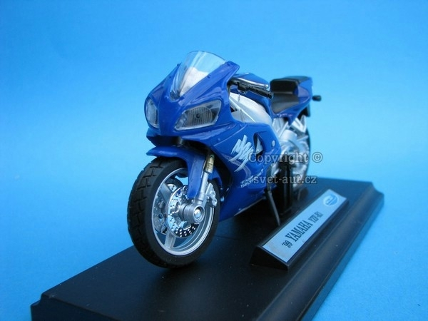Yamaha YZF-R1 1999 blue 1:18 Welly