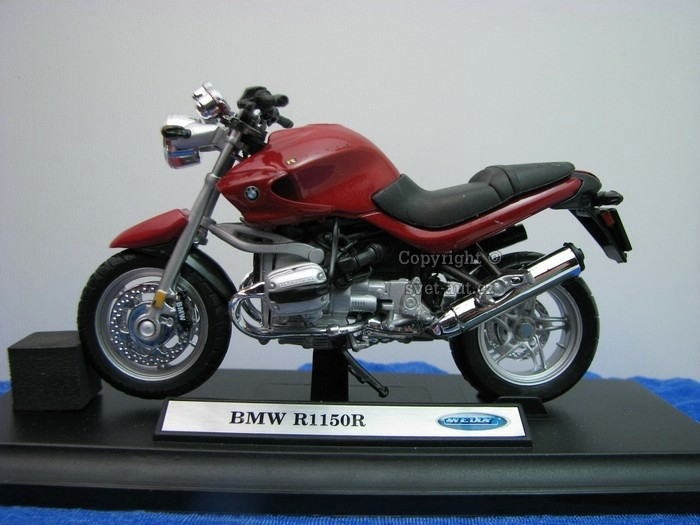 BMW R1150R Red 1:18 Welly